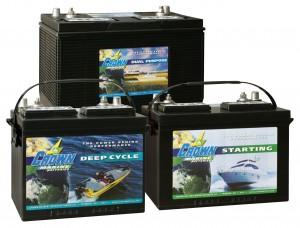 Crown Marine Batteries