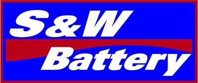 S & W Battery Logo