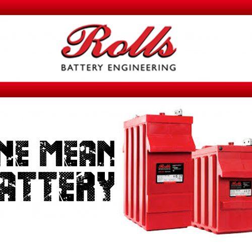 Rolls Mean Battery
